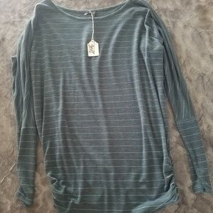 Maurices Long Sleeve Striped Knit